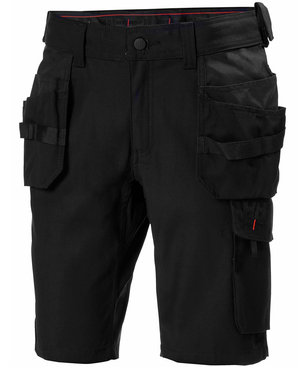 Helly Hansen WW Oxford håndværkershorts, Sort