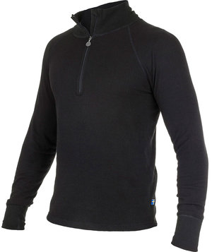 L.Brador thermal crewneck 716UP, Black