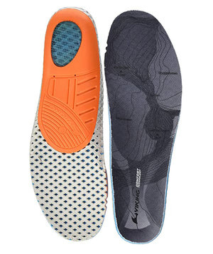 Viking Comfort Tec.Sole insoles, Grey/Orange
