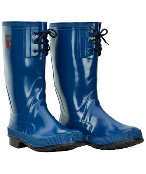 Sanita Hunter rubber boots for kids, Blue