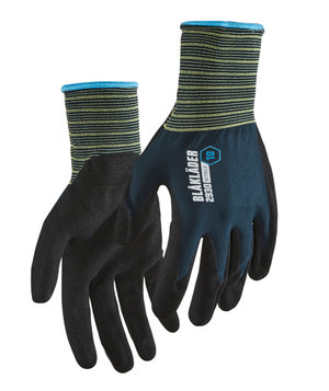 Blåkläder 2930 work gloves, Black/Blue