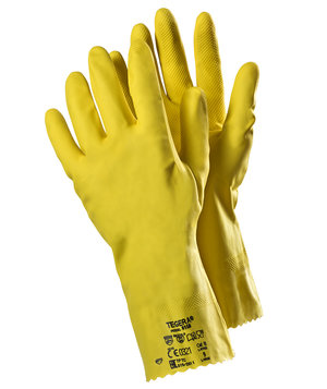 Tegera 8150 chemical protective gloves, Yellow