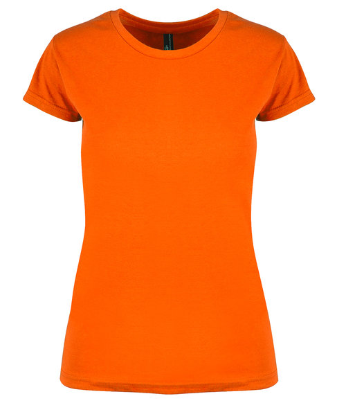 YOU Kos dame T-shirt, Orange