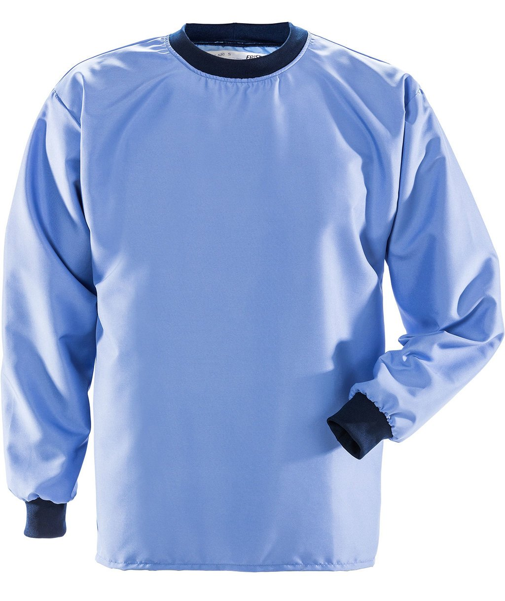 Fristads Cleanroom long-sleeved T-shirt 7R014, Middleblue