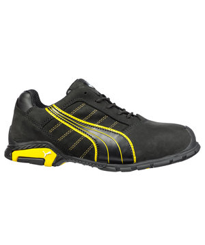 Puma Amsterdam safety shoes S3, Black/Yellow