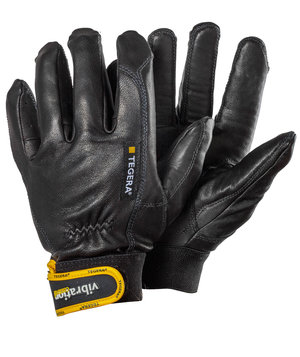 Tegera 9181 anti-vibration gloves, Black/Yellow