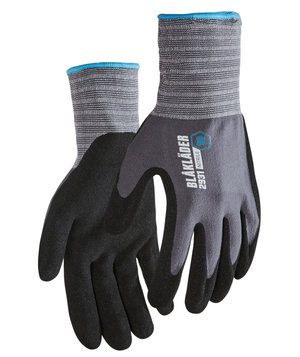 Blåkläder 2931 work gloves, Black/Grey