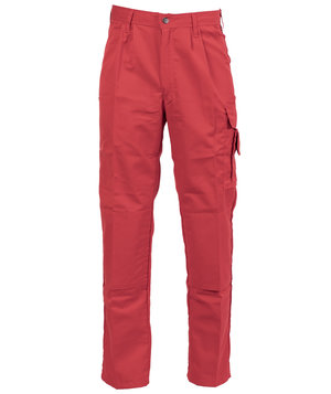 Fristads work trousers, Red