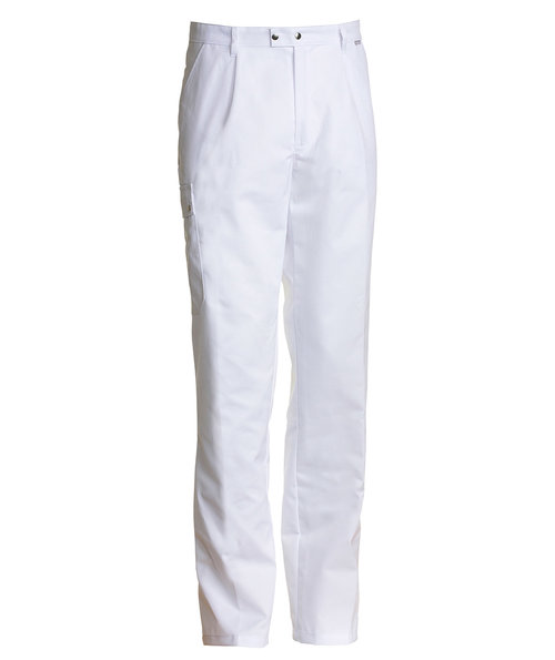Nybo Workwear Club Classic unisex trousers, White