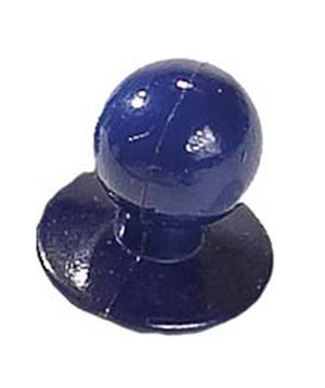 Nybo Workwear Chefs button, Cobalt Blue