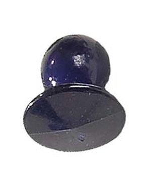 Nybo Workwear chefs buttons, Navy Blue