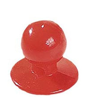 Nybo Workwear Chefs button, Red