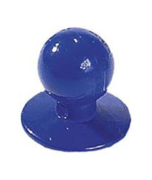 Nybo Workwear chefs buttons, Blue