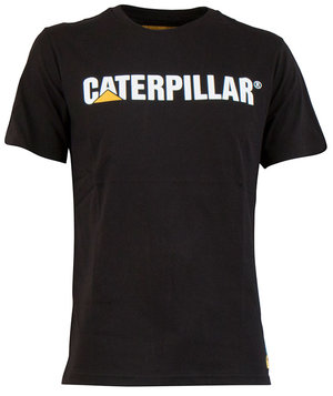 CAT Classic T-shirt, 100% bomuld, Sort