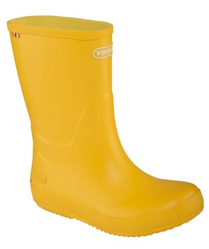 Viking Classic Indie rubber boots for kids, Yellow