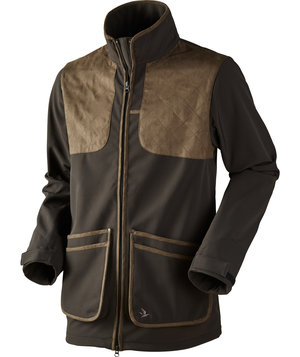 Seeland Winster Softshelljacke, Black coffee