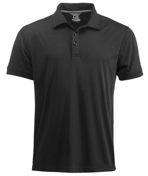Cutter & Buck Yarrow polo T-shirt m/UV35 beskyttelse, Sort