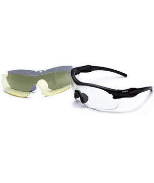 Uvex 9239 Military Sun safety glasses, Multi-colored