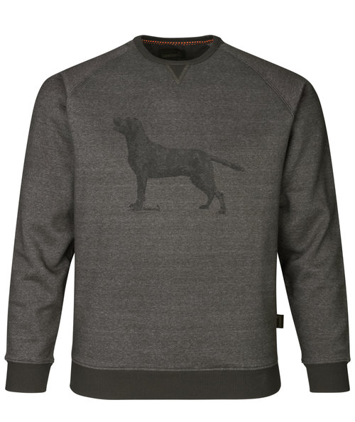 Seeland Key-Point sweatshirt, Grey Melange