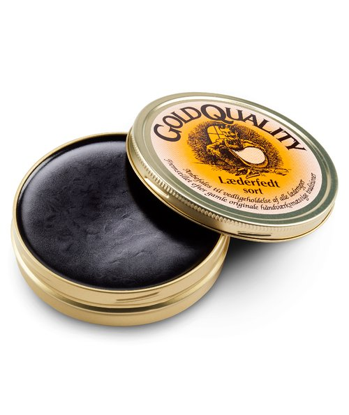 Gold Quality leather grease, 190 ml, Black