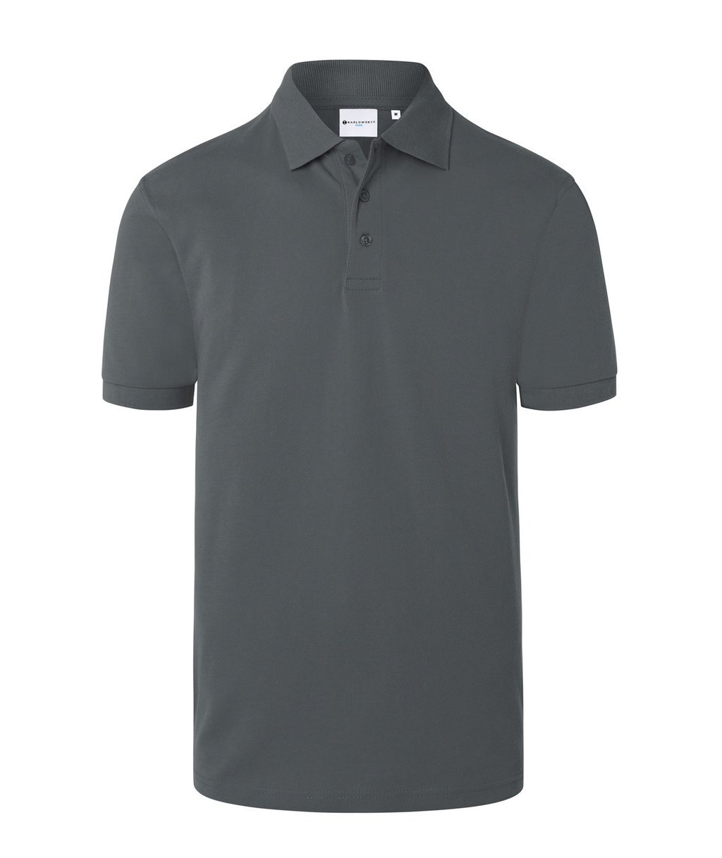 Karlowsky Pure polo T-shirt, Anthracite