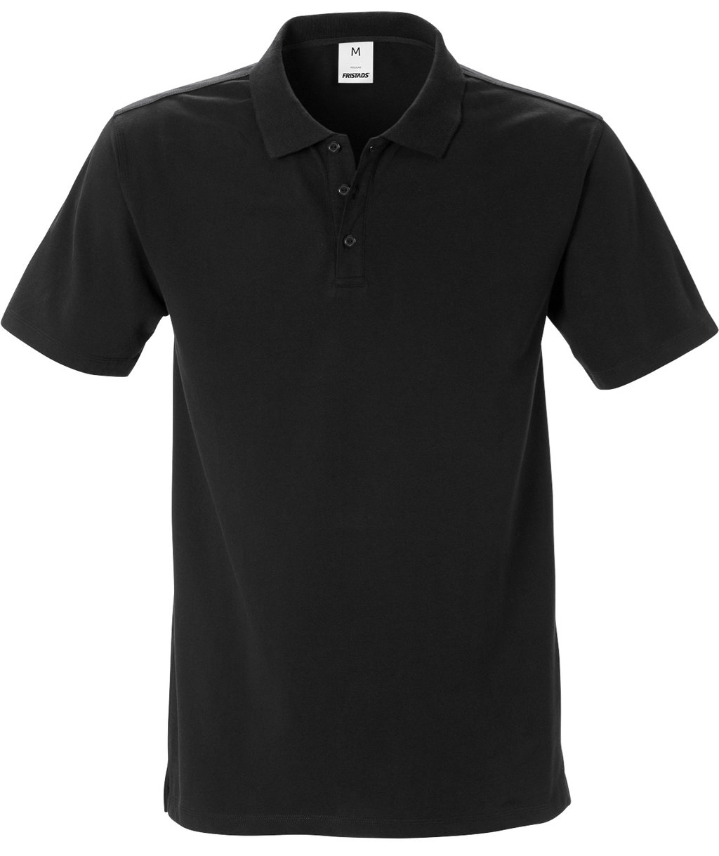 Fristads Acode polo T-shirt, Sort