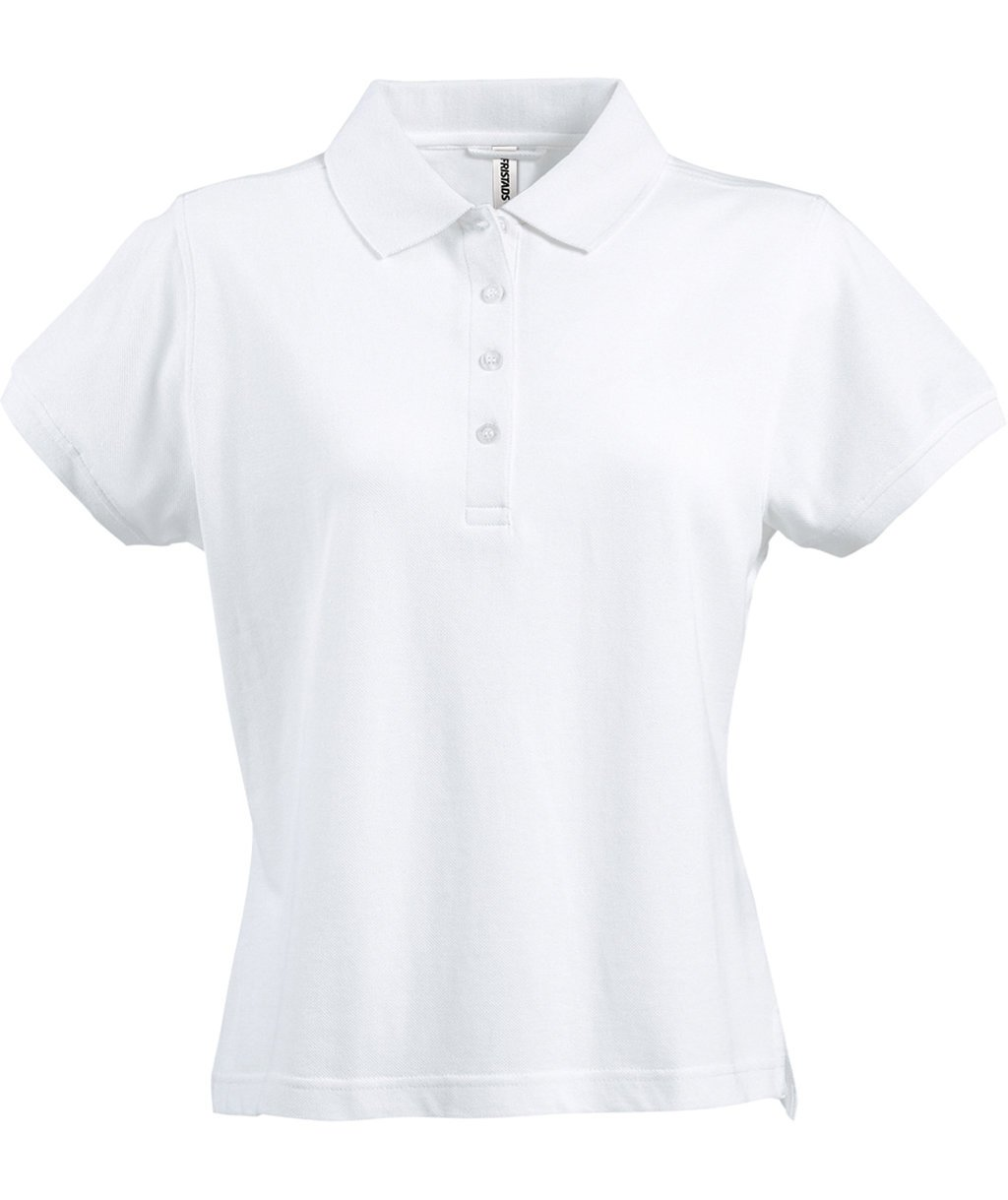 Fristads Acode Heavy women's polo T-shirt, White