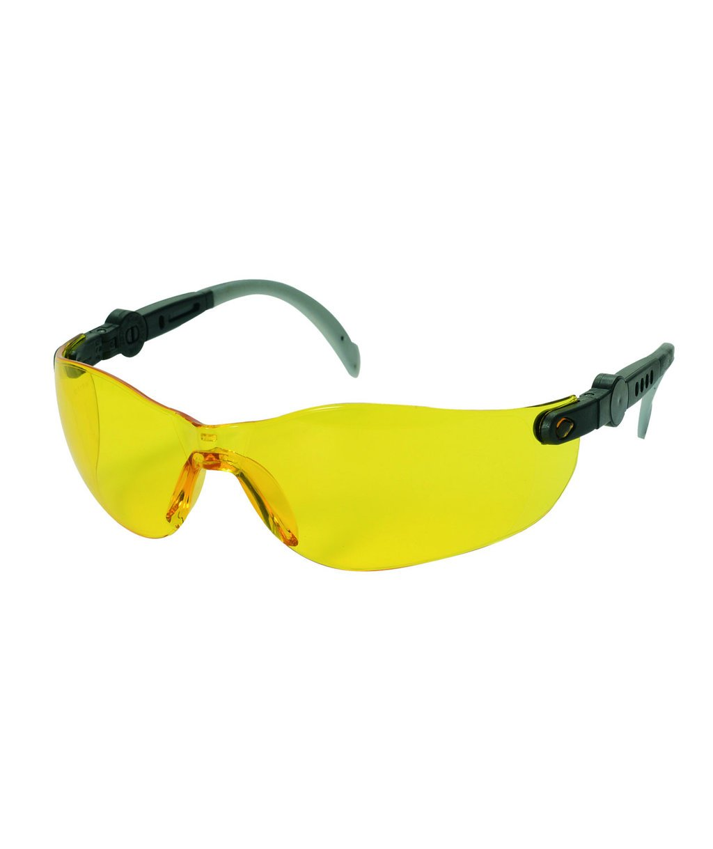 OX-ON Space Comfort safety glasses, Yellow