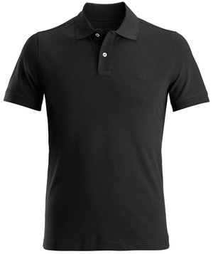 Dunderdon T14 polo T-shirt, 100% bomuld, Sort