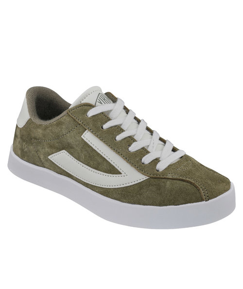 Viking Retro Trim Jr sneakers, Olive/Eggshell