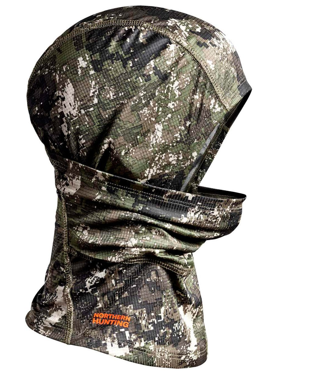 Northern Hunting Bue facemask, Kamouflage