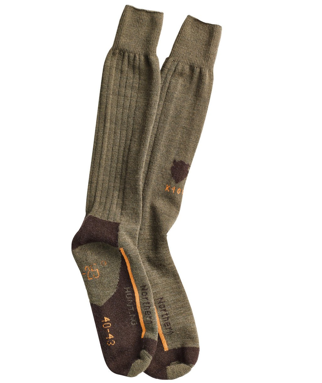Northern Hunting K400 hunting socks, Green