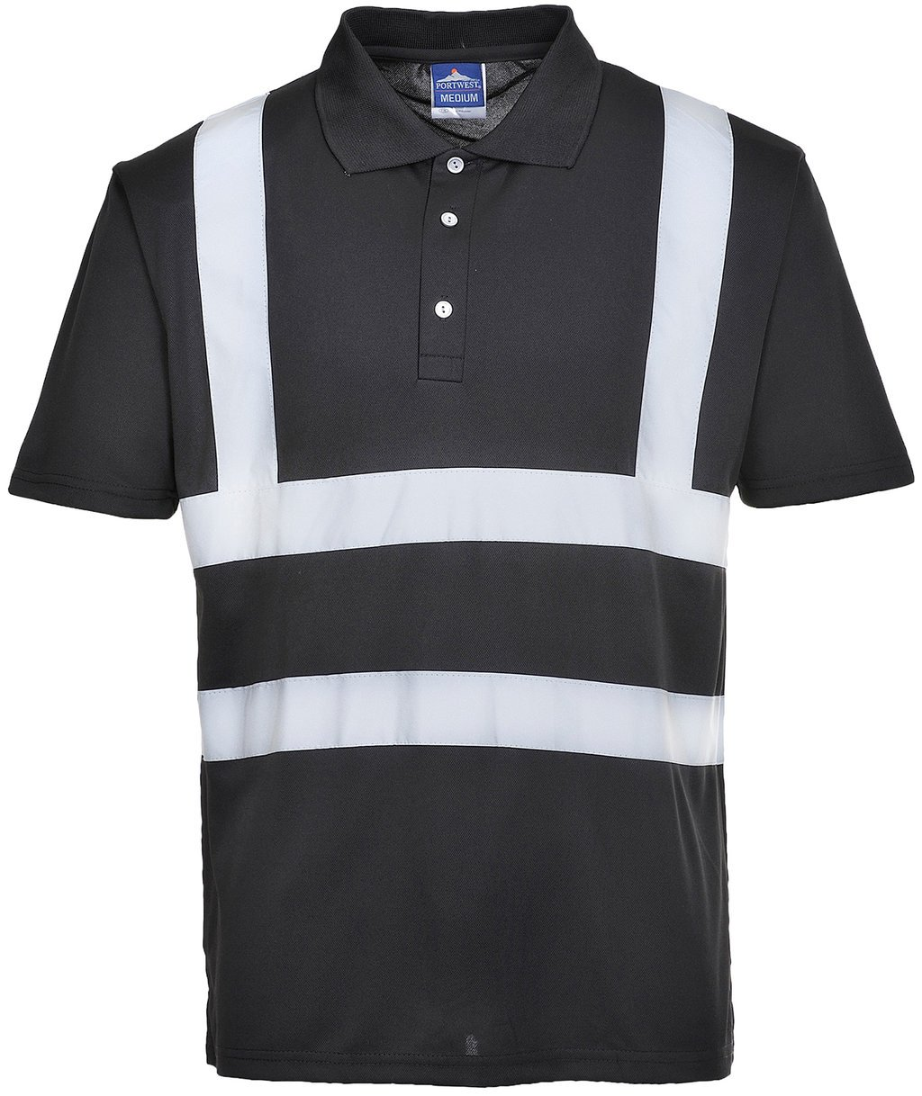 Portwest Iona polo T-shirt, Sort