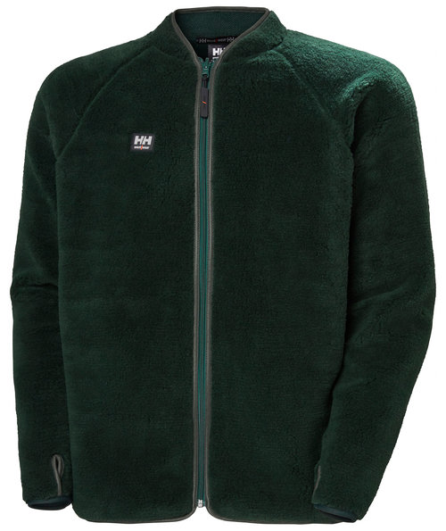 Helly Hansen WW Basel Fibre pile jacket, Dark Green
