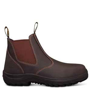 Oliver 34626 safety boots SB, Brown