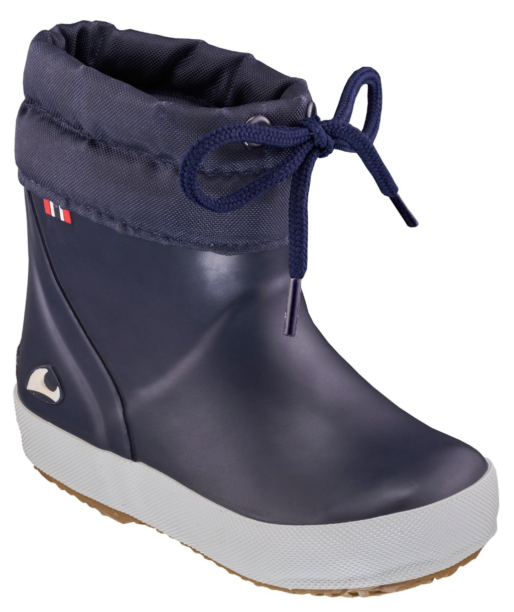 Viking Indie Alv Thermo Wool Gummistiefel für Kinder, Navy
