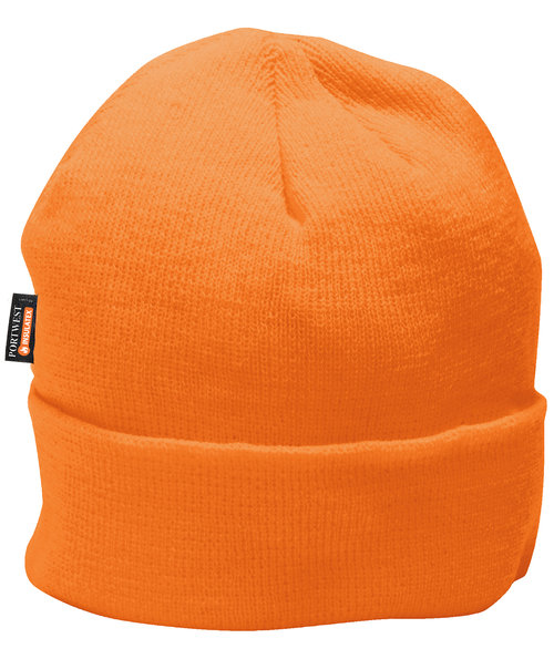 Portwest stickad mössa, Orange