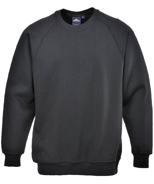 Portwest Roma sweatshirt, Sort