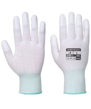 Portwest Fingertip assembly gloves, White