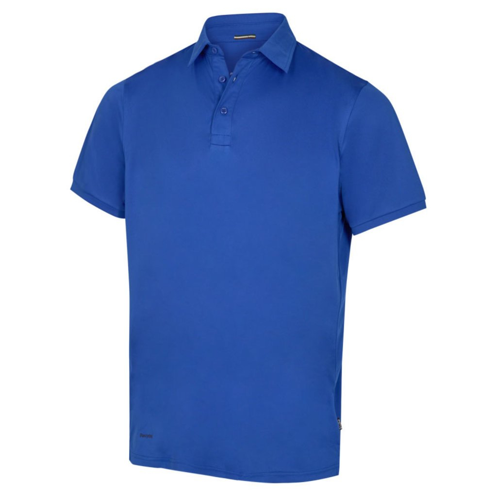 Pitch Stone Recycle polo T-shirt, Azure