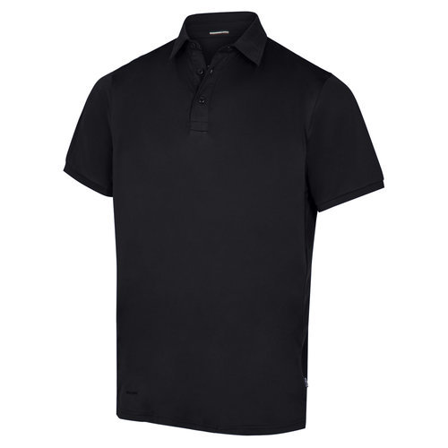 Pitch Stone Recycle polo T-shirt, Sort