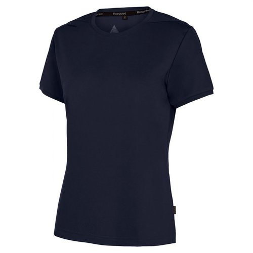 Pitch Stone Recycle dame T-shirt, Navy