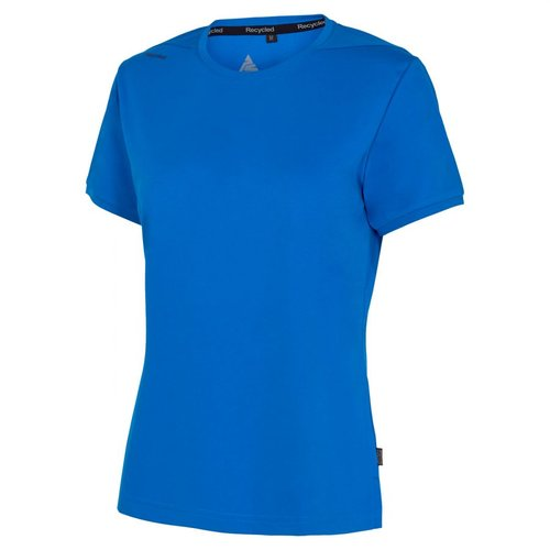 Pitch Stone Recycle dame T-shirt, Azure