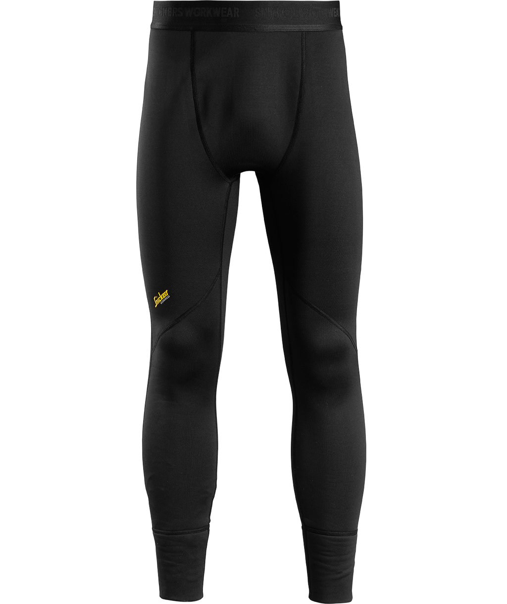 Snickers FlexiWork thermal long johns, Black