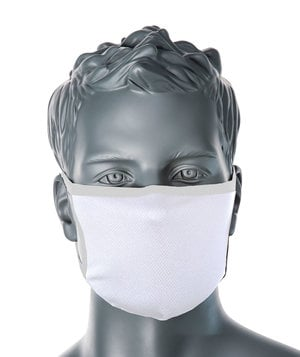Portwest CV33 3-layer recyclable face mask, White