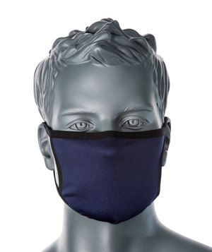 Portwest CV33 3-layer recyclable face mask, Navy