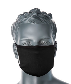 Portwest CV33 3-layer recyclable face mask, Black