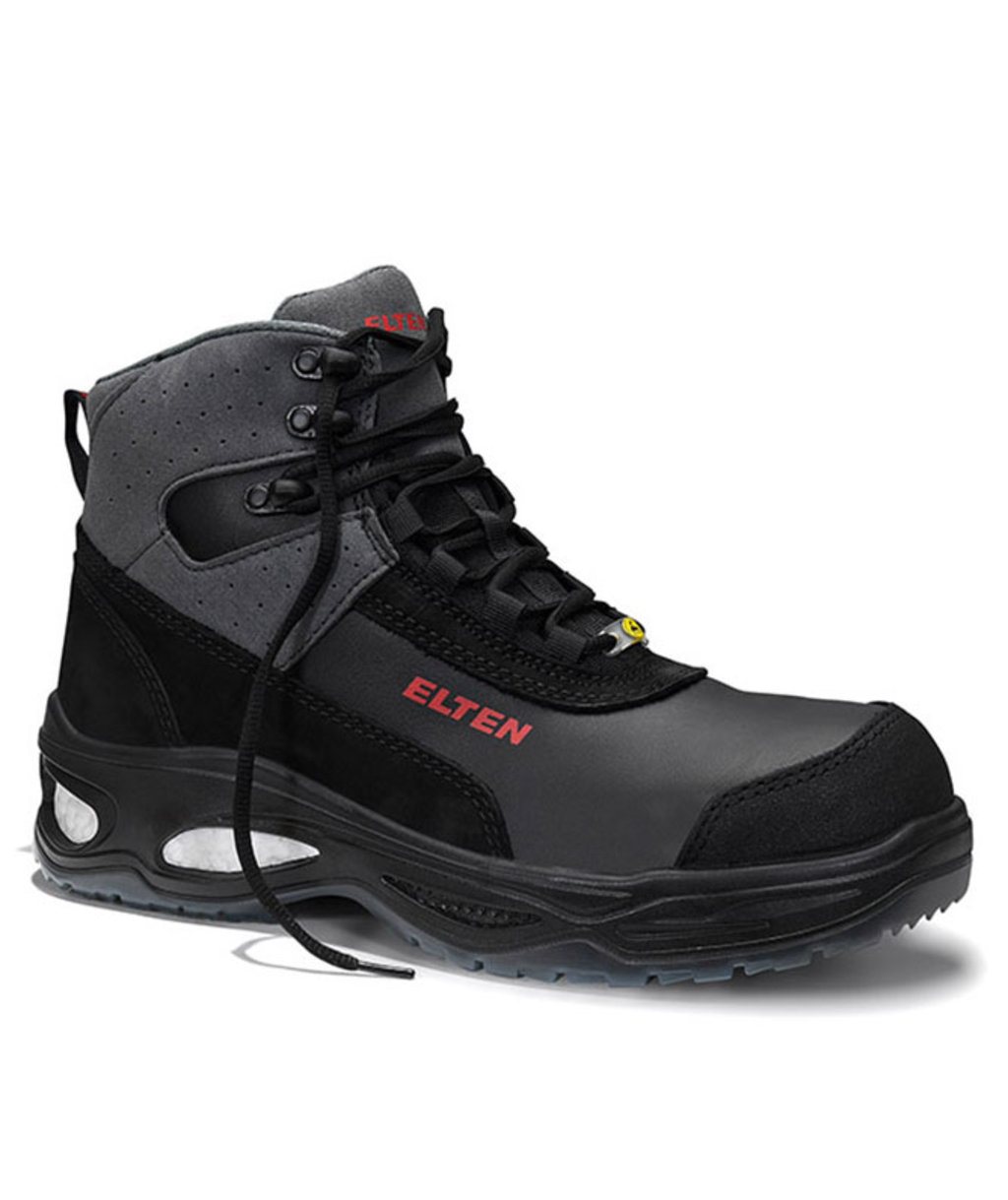 Elten Miles Mid safety bootees S3, Black