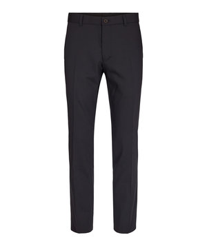 Sunwill Modern fit classic trousers, Black