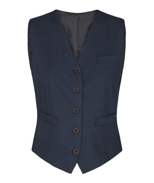 Sunwill Regular fit dame vest, Black